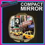 NEW YORK COMPACT LADIES METAL HANDBAG GIFT MIRROR